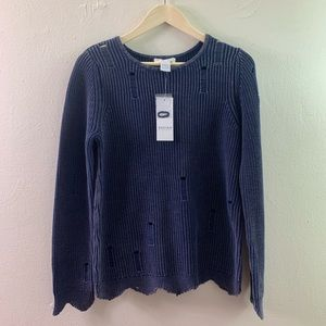 DESIGN HISTORY NAVY SWEATER SIZE SMALL